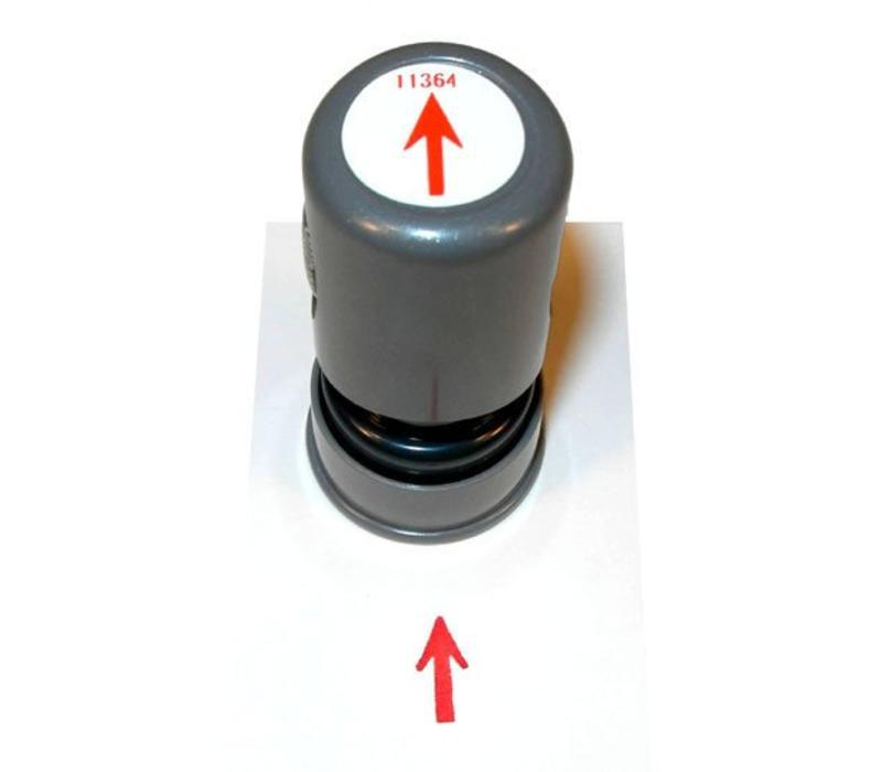 Stamp - Round - Arrow