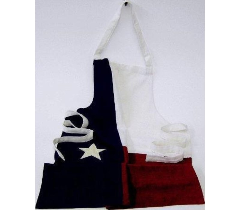 Apron - Texas Flag