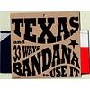Texas Bandana