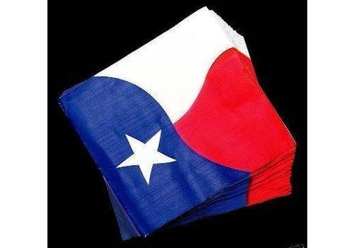 Napkins - Paper - Texas Flag