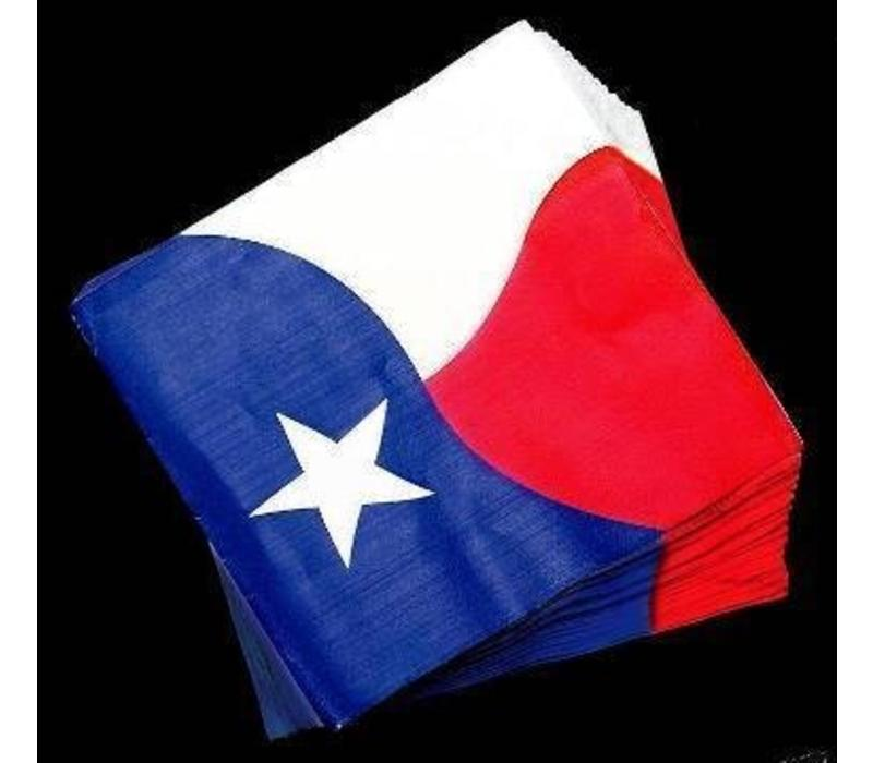 Napkins - Paper - Texas Flag