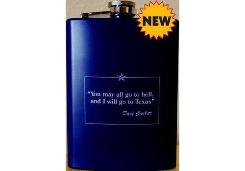 Flask - Davy Crockett - Navy