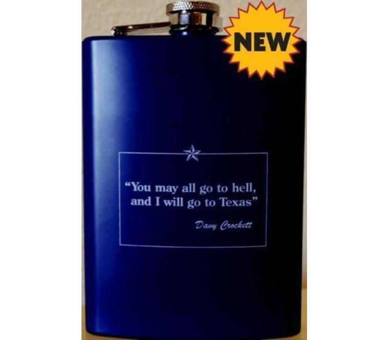 Flask - Davy Crockett - Navy