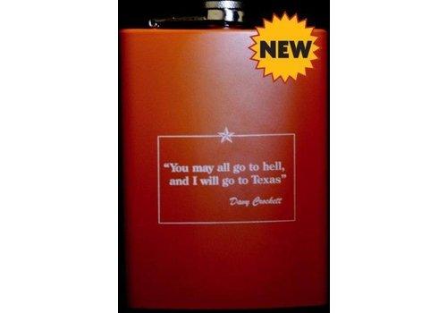 Flask - Davy Crockett - Orange
