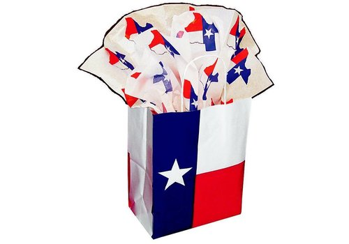 Gift Bag - Texas Flag