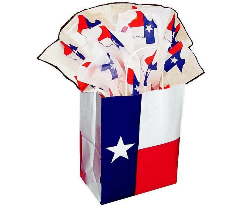 Gift Bag - Texas Flag