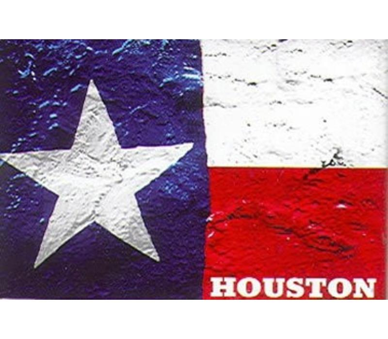 Magnet - Texas Flag - Houston