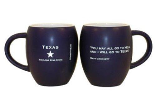 Mug - Davy Crockett - Navy/Orange