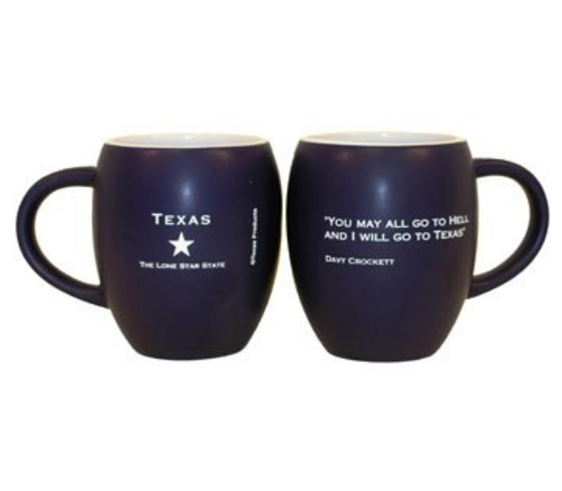 Mug - Davy Crockett - Navy/Orange