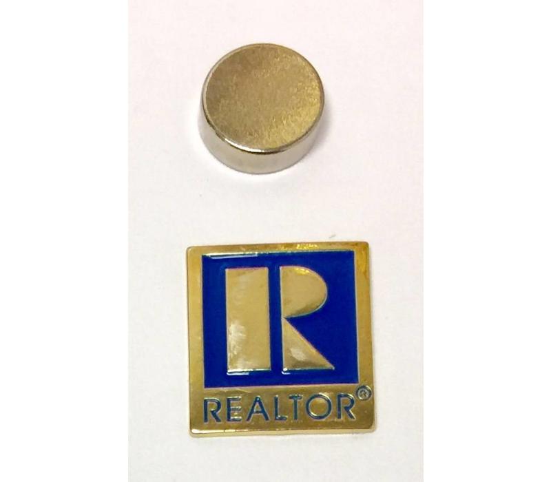 Realtor R Pin - Gold - Sm