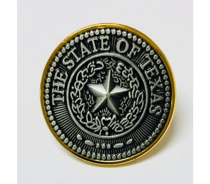 Pin - Lapel - Texas Seal