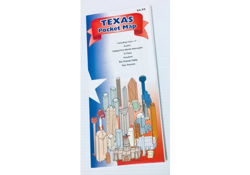 Pocket Map - Texas