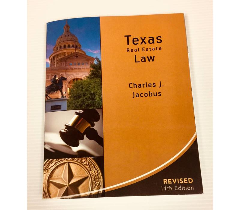 Texas Real Estate Law - Paper Back