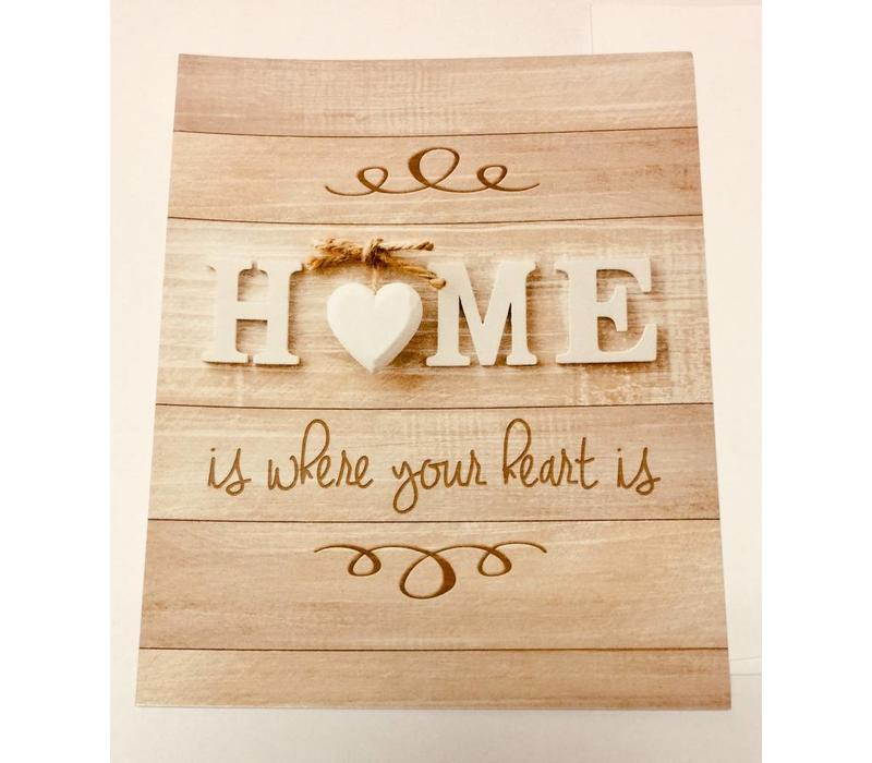 Cards - Home/Heart Is - 25 pk