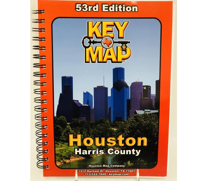 Key Map - Harris County