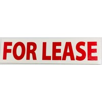 Sign Stickers - For Lease - 10 pk