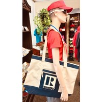 Realtor R Tote - Canvas - Beige - Lg