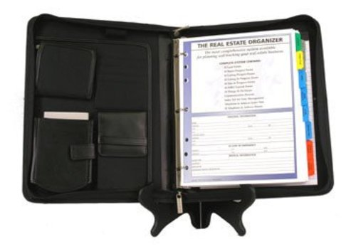 Planner - RE - Leather - Black