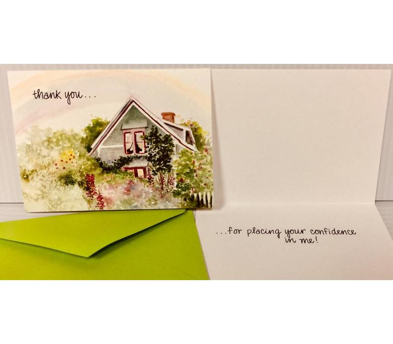 Thank You Cards - For Your Confidence -10 pk