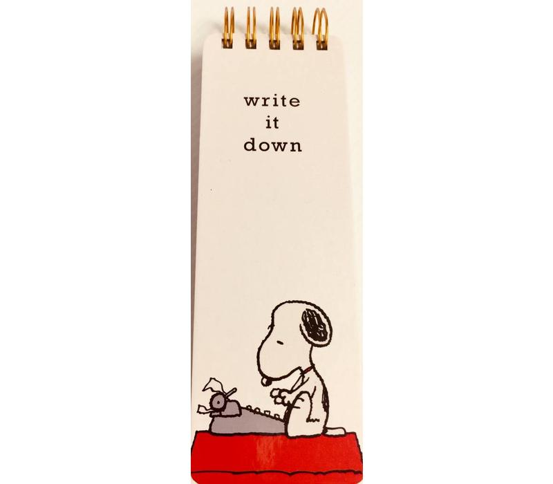 Journal - Reporter - Snoopy Typewriter