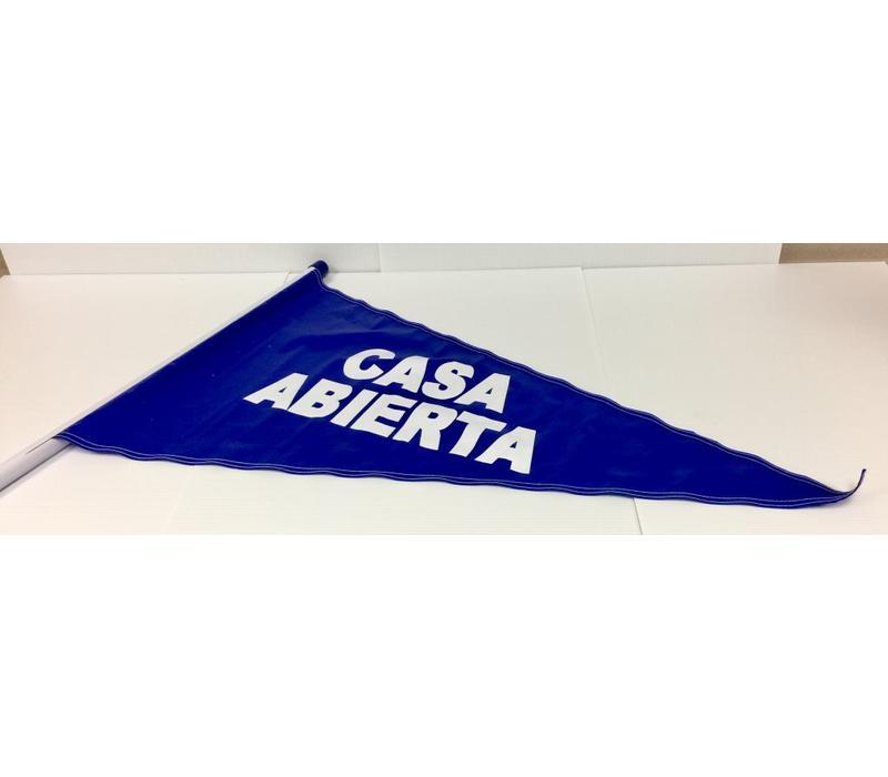 Flag - Casa Abierta - Blue