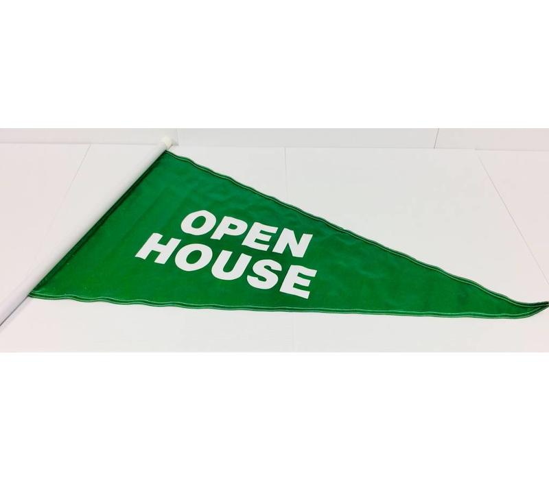 Flag - Open House - Green