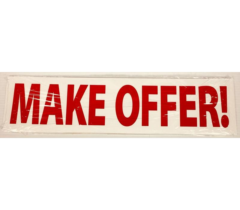 Sign Stickers - MAKE OFFER!