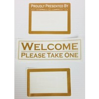 Label - Flyer Holder -