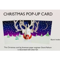 Pop Up Card - Christmas Reindeer