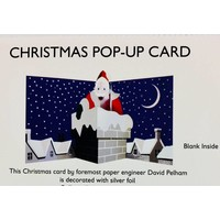 Pop Up Card - Christmas Chimney