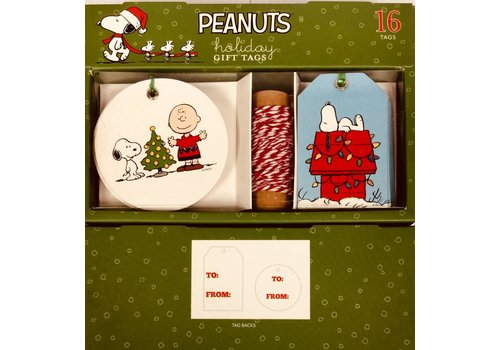Gift Tag Set - Peanuts Christmas