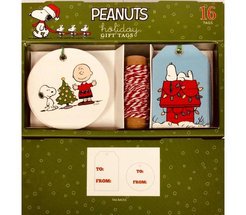 Gift Tag Set - Peanuts Christmas