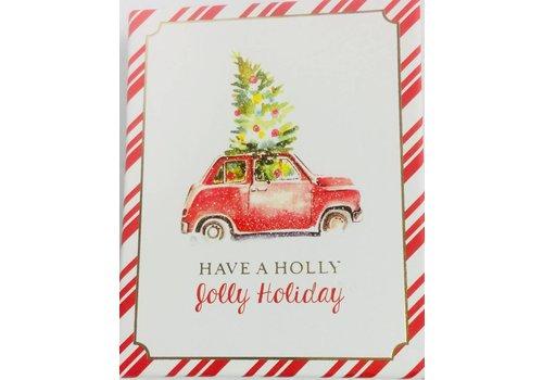 Gift Card Box - Christmas Tree Car