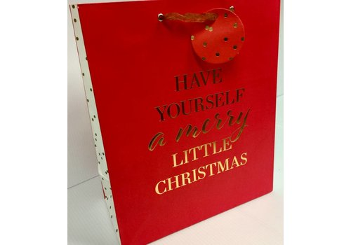 Gift Bag - Holiday - Merry Little Christmas