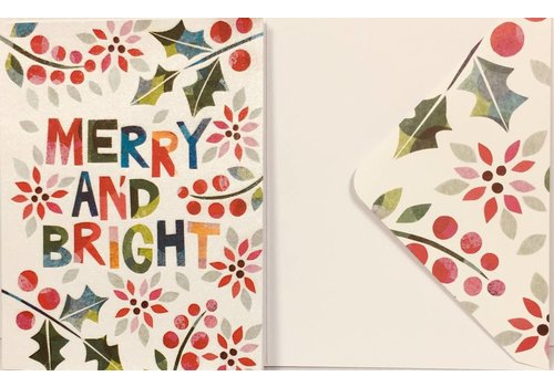 Cards - Holiday - Merry & Bright