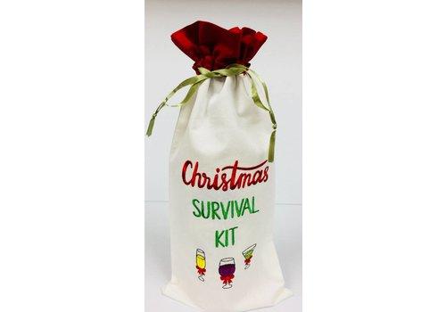 Wine Bag - Christmas Survival Kit