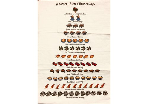 Kitchen Towel - A Southern Christmas