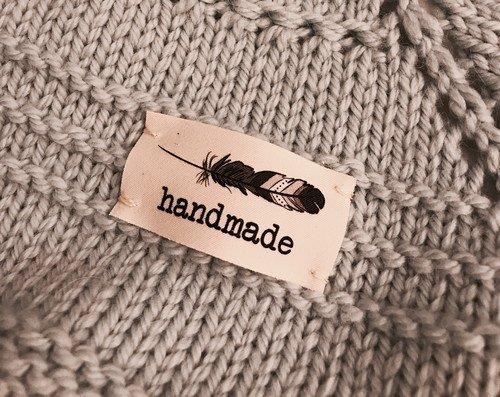 Big Bad Wool Big Bad Wool Feather Twill Tags