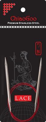 "ChiaoGoo ChiaoGoo Lace Circular 16"" US 1 Needle"