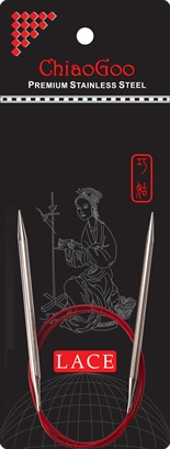 "ChiaoGoo ChiaoGoo Lace Circular 16"" US 10 Needle"