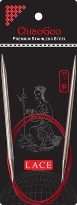 "ChiaoGoo ChiaoGoo Lace Circular 32"" US 11 Needle"