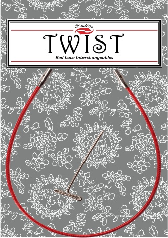 "ChiaoGoo ChiaoGoo Twist Red Cable 8"" - Large"