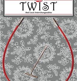 """ChiaoGoo ChiaoGoo Twist Red Cable 8"""" - Mini"""