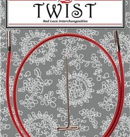 """ChiaoGoo ChiaoGoo Twist Red Cable 30"""" - Mini"""