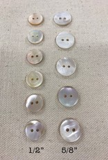"Big Bad Wool Mother of Pearl 5/8"" Buttons"