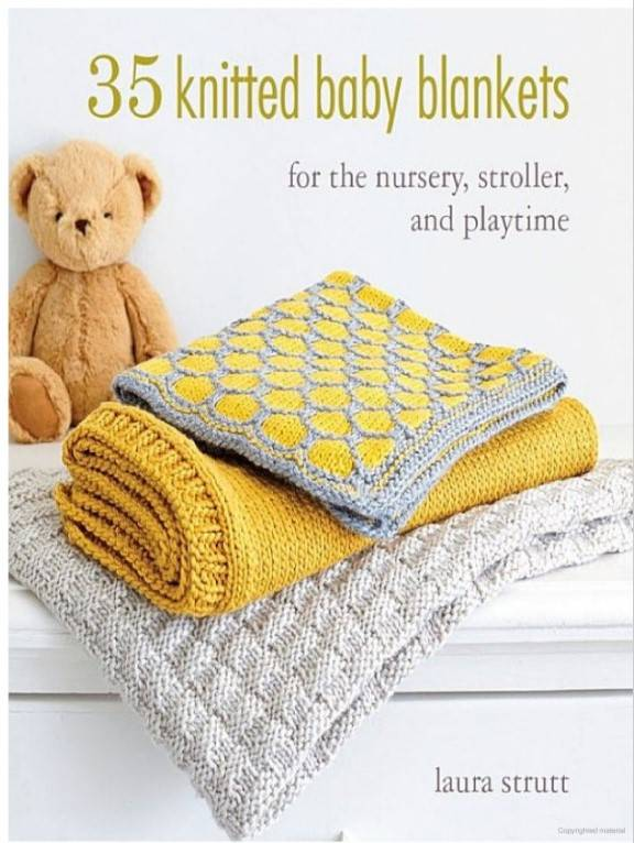 35 Knitted Blankets Book