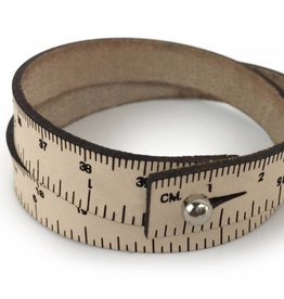 ILOVEHANDLES Wrist Ruler in Natural Size 15""