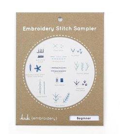 Kiriki Kiriki Embroidery Stitch Sampler Kit