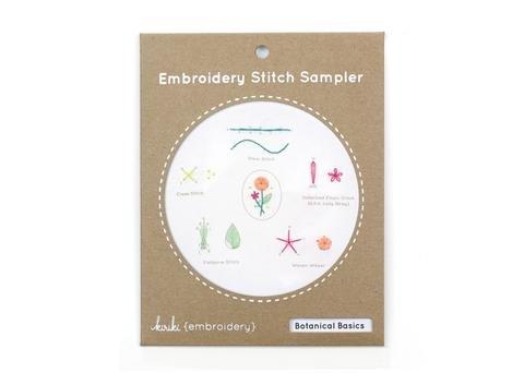 Kiriki Embroidery Stitch Sampler Kit