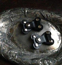 Jul Designs Jul Lock Toggle Leather Closure Black